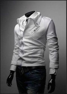 Men's Fashion Zip Up Jacket