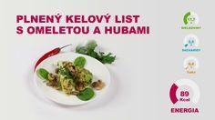Recept na prípravu diétneho jedla vhodného pre bielkovinovú ketogénnu diétu M.Diet. Recept je vhodný aj pre Dukanovu a paleo diétu. Proteínovú omeletu možete zakúpiť na www.mdiet.sk.