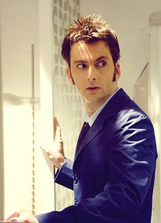 David Tennant's eyebrows question your every move ;)