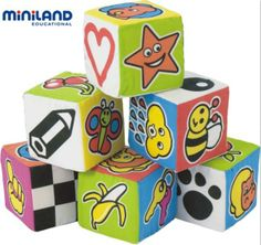 Set de 6 cubos 11,90 E