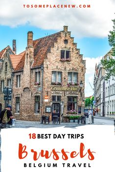 Get the best day trips from Brussels for your Belgium Itinerary. Explore it as a guided day trip from Brussels or take the train or drive. All details here! Backpacking Europe, Europe Travel Tips, Travel Deals, Travel Guides, Travel Destinations, European Vacation, European Destination, European Travel, Euro Travel