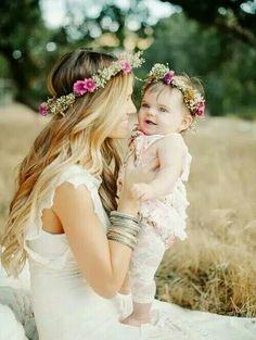 Hermosa imagen, madre e hija!!!