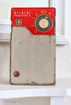 Just about the cutest vintage transistor radio ever made