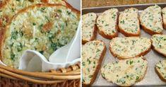 Запеченный хлеб с сыром