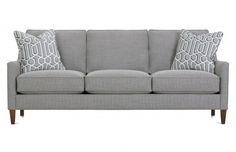 Sofas Custom Rowe Furniture Transitional Sofa Styling
