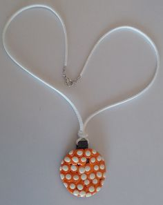"""Halskette """"blanco naranja"""" – Manfred Accessoires Amazing Photography, Keep It Cleaner, Pendant Necklace, Jewellery, Winter, White Necklace, Neck Chain, Winter Time, Jewels"""