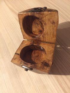 Handmade in seasoned oak wood, finished in detail, unique object. Viking Helmet, Puzzle Box, Green Bag, Antique Gold, Mini, Bottle Opener, Jewels, The Originals, Etsy