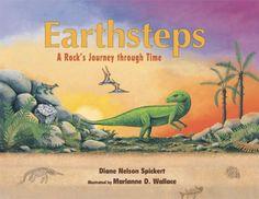 Earthsteps: A Rock's Journey through Time by Diane Nelson Spickert http://www.amazon.com/dp/1555917305/ref=cm_sw_r_pi_dp_voejub0TBMH83