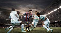 FC Barcelona Action on Behance