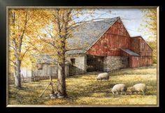 Campanelli Artist | dan campanelli framed art | Dark Hallow Illuminated Prints by Dan ...