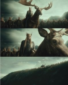 The Hobbit: Am I the only one who thought that moose looked absolutely ridiculous??-J