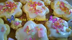 Spring time lemon biscuits, perfect for Mothers Day, Easter, or just a quick and tasty treat!