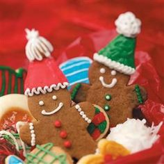 Gingerbread Cutout Cookies Recipe -Our two boys linger around the kitchen when these aromatic cookies are baking. I make this gingerbread cookie recipe throughout the year using a variety of cookie cutters. —Christy Thelan, Kellog, Iowa