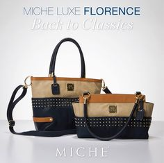 Miche Luxe Florence Shells - Like the famous Italian city that inspired her name, the Florence design for Miche bags is architecturally beautiful and rich in detail. The Perfect Girlfriend, Trendy Handbags, Bowling Bags, Classic Gold, Birkin, Designer Handbags, Fendi, Purses And Bags, Florence