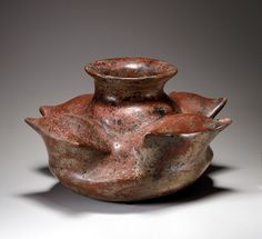 Jar with Cut Maguey Leaves, 2nd century BC–2nd century AD. Mexico; Colima. Ceramic; H. 7 in. (17.8 cm)