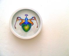 Blade, 2010, olio e acrilico su tela vetro latta, 24,5 cm - Ignazio Mazzeo #art #artobject #ignaziomazzeo
