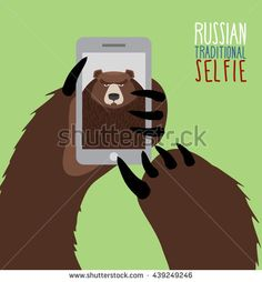 http://image.shutterstock.com/display_pic_with_logo/2814622/439249246/stock-vector-selfie-in-russia-bear-selfie-bear-paw-holding-a-phone-russian-traditional-ornament-439249246.jpg