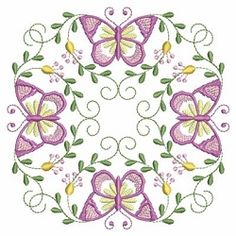 Butterfly Fancy Block 10 - 3 Sizes! | What's New | Machine Embroidery Designs | SWAKembroidery.com Ace Points Embroidery