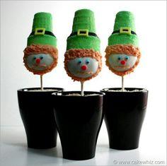 Green hats!