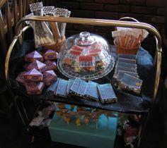 hogwarts express candy trolley