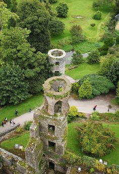 View from the top of Blarney Castle. Green for St. Patties! These Irish eyes are smiling :)