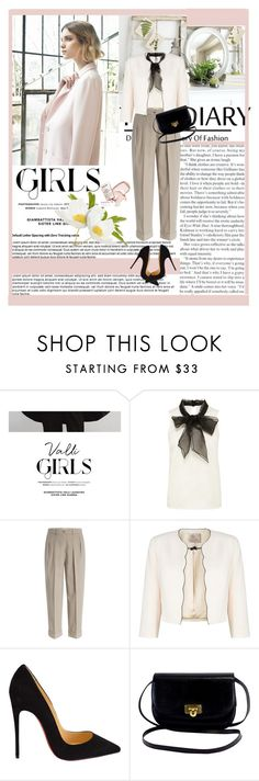 """""""Untitled #88"""" by mana-man ❤ liked on Polyvore featuring COII, Nuevo, Michael Kors, Jacques Vert and Christian Louboutin"""