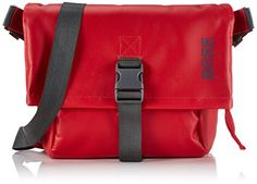 BREE Punch 98, blue, messenger M 83251098 Damen Umhängetaschen 48x35x13 cm (B x H x T), Rot (red 152) - http://herrentaschenkaufen.de/bree/rot-red-152-bree-punch-98-blue-messenger-m-83251098
