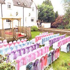 My pastel themed wedding, Buchanan arms Scotland