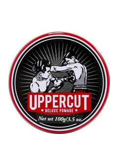 Uppercut Deluxe Pomade is a water-soluble product suitable for a diverse range of styles but particularly popular with fellas rocking a slickback, quiff or mohawk!