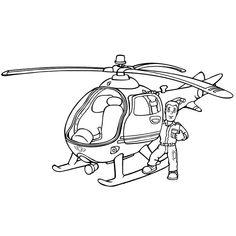 Omalovánka Tom a vrtulník Wallaby One Fireman Sam Helicopter, Crafts For Kids, Fun Crafts, Stencils, Toms, Prints, Fictional Characters, Art, Third Grade