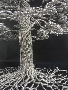 Clive Maddison - Wire Tree Sculptures