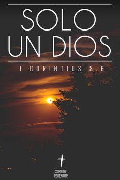 para nosotros, sin embargo, sólo hay un Dios, el Padre, del cual proceden todas…