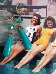 Marea III orecchini SD0840  Vintage di BijouxSandrineDevost