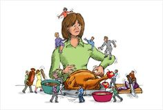 Thanksgiving Solution #6: Too Many Cooks