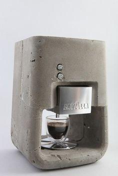 Concrete Coffee make by Linksi Designs