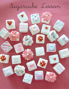 sugarcubes for valentine's day♡