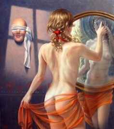 Pop surrealism, surrealism, lowbrow art, new contemporary art: Interview with surreal artist Alex Alemany Art Visionnaire, Phoebe Cates, Eugenia Loli, Psy Art, Sexy Women, Grace Jones, Magic Realism, Realistic Paintings, Girl Paintings