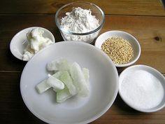 櫻井景子先生の香港レシピ教室 老婆餅の巻 レシピ