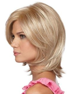 Soft Layered Hairstyles for round faces-2