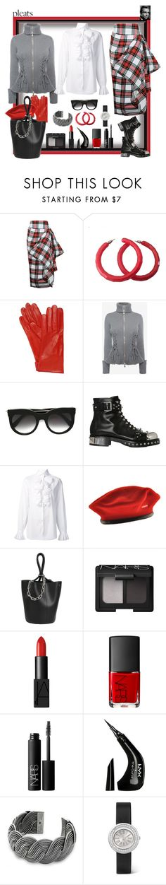 """Dear Sean, talk to me with your hypnotic voice!"" by ritva-harjula ❤ liked on Polyvore featuring Mario Portolano, Alexander McQueen, Ralph Lauren, kangol, Alexander Wang, NARS Cosmetics, NYX, NOVICA and Piaget"