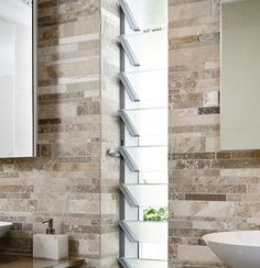 Aluminium Louvre Windows A classic look and feel with the elegance of aluminium… Bathroom Renos, Laundry In Bathroom, Bathrooms, Bathroom Ideas, Louvre Windows, Inside Home, New Home Builders, Display Homes, Window Styles