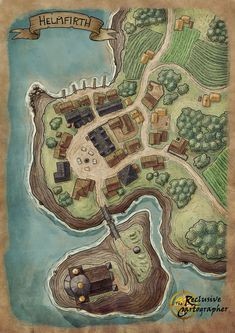 DnD village map I drew for a bit of practice. Feel free to use in your own game! DnD village map I drew for a bit of practice. Feel free to use in your own game! Fantasy Map Making, Fantasy City Map, Fantasy Village, Fantasy World Map, Fantasy Town, Fantasy Rpg, Fantasy Books, Dungeons And Dragons Homebrew, D&d Dungeons And Dragons