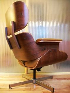 Beautiful Portland: Selig Eames Style Chair And Ottoman   Awesome Mid Century Design  $695   Http