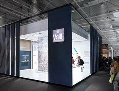 Valli Arredobagno booth during the Salone del Mobile 2016