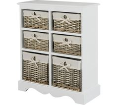 Buy Ashley Multifunctional Shelf Drawer Storage Unit Oak