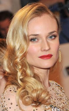 Diane Kruger (1976). Actress. Starred in Troy, National Treasure, and Inglorious Basterds. Endorsements include modelling for Chanel and Armani, spokesmodel for L'Oreal, brand ambassador for Jaeger-LeCoultre watches, and face of Calvin Klein Beauty perfume. (*source unknown)