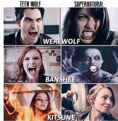 I loveeeeee both but supernatural is way creepier