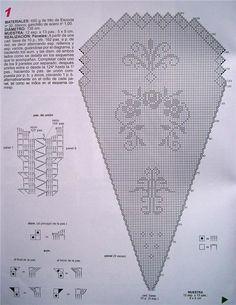 Gallery.ru / Фото #147 - Моя коллекция скатертей 3 - natalya111 Crochet Patterns Filet, Filet Crochet, Knit Crochet, Crochet Hats, Crochet Tablecloth, Crochet Doilies, Crochet Edgings, Thread Crochet, Crochet Stitches