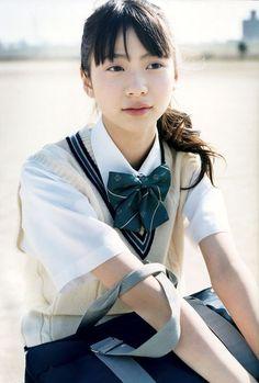 画像 Cute Japanese Girl, Japanese School, Sweet Girls, Cute Girls, Young Actresses, Blue Springs, High School Girls, Kpop Girls, Asian Girl
