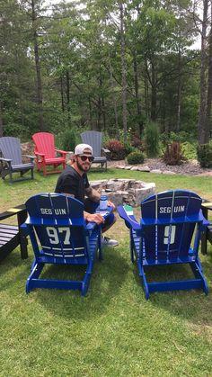 Tyler Seguin My Custom Sports Chair Flyers Hockey, Blackhawks Hockey, Chicago Blackhawks, Hockey Players, Hockey Baby, Hockey Girls, Ice Hockey, Boys, Adirondack Rocking Chair